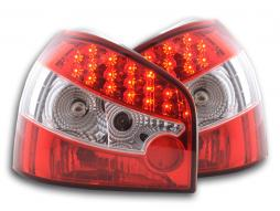 Led Taillights Audi A3 type 8L Yr. 96-02 red