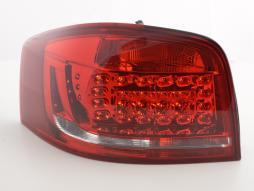 LED Rückleuchten Set Audi A3 3-türig (8P) Bj. 2010-2012 rot/klar