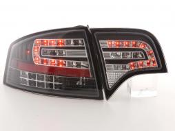 Led Taillights Audi A4 saloon type 8E Yr. 04-07 black