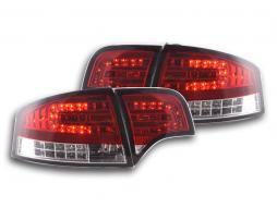 Led Rückleuchten gebraucht Audi A4 Limousine Typ 8E Bj. 04-07 rot/klar