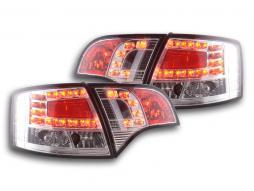 LED Rückleuchten Set Audi A4 Avant Typ 8E Bj. 04-08 chrom