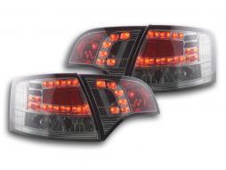 LED Rückleuchten Set Audi A4 Avant Typ 8E Bj. 04-08 schwarz