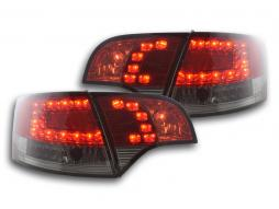 Led Taillights Audi A4 Avant type 8E Yr. 04-08 red/black