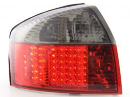 Led Taillights Audi A4 saloon type 8E Yr. 01-04 black/red