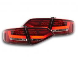 Led Taillights Audi A4 B8 8K saloon Yr. 07-11 red/clear