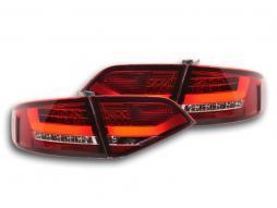 LED Rückleuchten Set Audi A4 B8 8K Limo Bj. 07-11 rot/klar