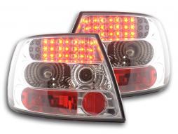 Led Taillights Audi A4 saloon type B5 Yr. 95-00 chrome