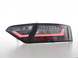 LED Rückleuchten Set Lightbar Audi A5 8T Coupe/Sportback Bj. 07-11 schwarz