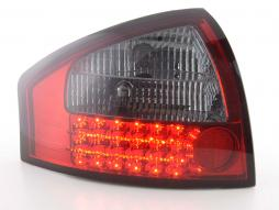 Led Taillights Audi A6 saloon type 4B Yr. 97-03 red/black