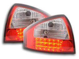 Led Rückleuchten Audi A6 Limousine Typ 4B Bj. 97-03 klar/rot