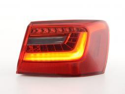Verschleißteile Rückleuchte LED rechts Audi A6 Avant (4G) Bj. 2010- rot/klar