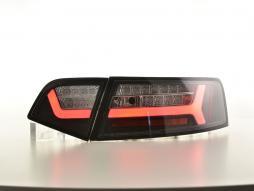 LED Rückleuchten Lightbar Audi A6 4F Limo Bj. 08-11 schwarz