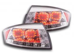 LED Rückleuchten Set Audi TT Typ 8N Bj. 98-06 chrom für Rechtslenker