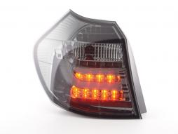 Led Taillights BMW serie 1 E87/E81 3/5-Dr. Yr. 04-06 black