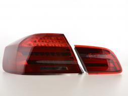 Led rear lights BMW serie 3 E92 Coupe Yr. 06-10 red/black