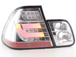 LED Rückleuchten Set BMW 3er E46 Limo Bj. 98-01 chrom