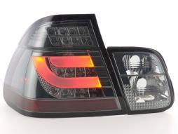 LED Rückleuchten Set BMW 3er E46 Limo Bj. 98-01 schwarz