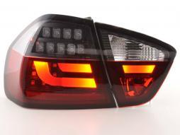 Rückleuchten Set LED gebraucht BMW 3er E90 Limo Bj. 05-08 rot/schwarz