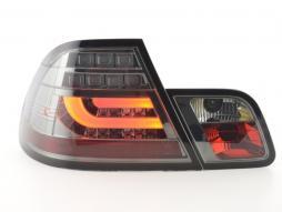 Led Rückleuchten BMW 3er E46 Coupe Bj. 99-02 schwarz