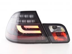 LED Rückleuchten Set BMW 3er E46 Coupe Bj. 99-02 schwarz