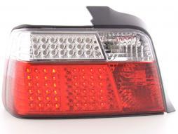 Led Rückleuchten BMW 3er Limousine Typ E36 Bj. 91-98 rot/weiß