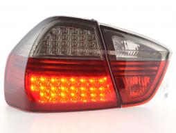 Led Taillights BMW serie 3 saloon type E90 Yr. 05-08 black/red