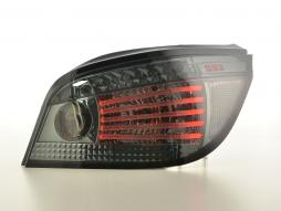 LED rear lights Lightbar BMW serie 5 E60 saloon year 07-09 smoke