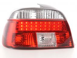Led Rückleuchten BMW 5er Limousine Typ E39 Bj. 95-00 klar/rot
