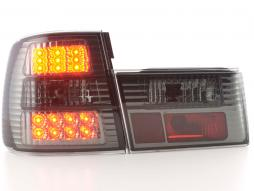 Led Taillights BMW serie 5 type E34 Yr. 88-94 black