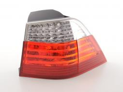 Spare parts taillight LED right BMW serie 5 E61 Touring Yr. 07-10 red/clear