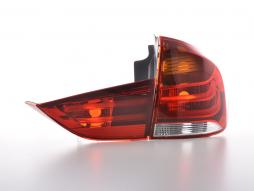 Taillights LED BMW X1 E84 Yr. 09-13 red/clear