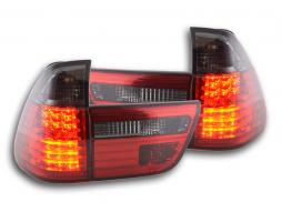 Led Taillights BMW X5 type E53 Yr. 98-02 black/red