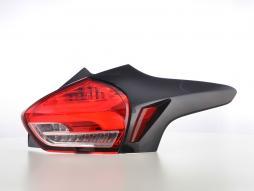 LED Rückleuchten Ford Focus 3 5-Türer Schrägheck Bj. 14-18 rot/klar
