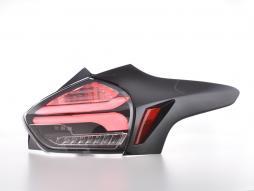 LED Rückleuchten Ford Focus 3 5-Türer Schrägheck Bj. 14-18 schwarz