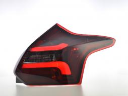LED feux arriéres Ford Focus 3 hatchback année de costr.  11-14 rouge/smoke