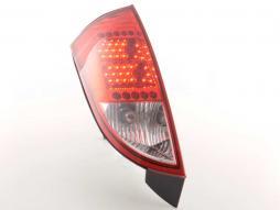 LED feux arrières pour Ford Focus (type DAW/DBW/DFW/DNW/DB1/DA1) An 98-04, rouge