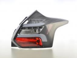 LED Rückleuchten Set Lightbar Ford Focus 3 Bj. 10-14 schwarz