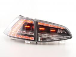Led Taillights VW Golf 7 from Yr.2012 black