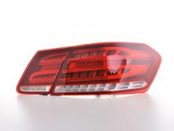 LED rear lights Mercedes-Benz E-class W212 saloon Yr. 09-12 red/clear