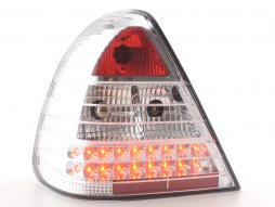 Led Taillights Mercedes C-Class type W202 Yr. 96-00 chrome