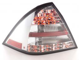 Led Taillights Mercedes C-Class type W203 saloon Yr. 01-04 chrome