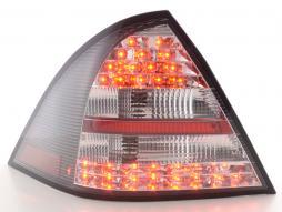LED feux arrières pour Mercedes-Benz Classe C type W203 berline An 01-04, noir