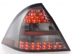 LED Rückleuchten Set Mercedes C-Klasse W203 Limo Bj. 05-07 schwarz