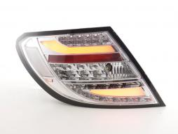 Led Taillights Mercedes C-class W204 Yr. 07-11 chrome