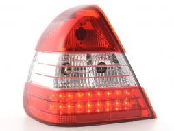 Led Taillights Mercedes C-Class type W202 Yr. 96-00 clear/red
