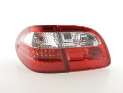 LED Rückleuchten Set Mercedes E-Klasse Kombi (210) Bj. 99-03 rot/klar