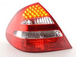 Zubehör Rückleuchte links Mercedes E-Klasse Lim. Typ W211 klar/rot