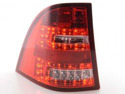 Led Taillights Mercedes M-Class type W163 Yr. 98-05 clear/red