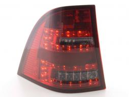 Led Taillights Mercedes M-Class type W163 Yr. 98-05 red/black