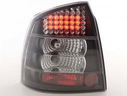 LED Rückleuchten Set Opel Astra G 3/5-trg Bj. 98-03 schwarz